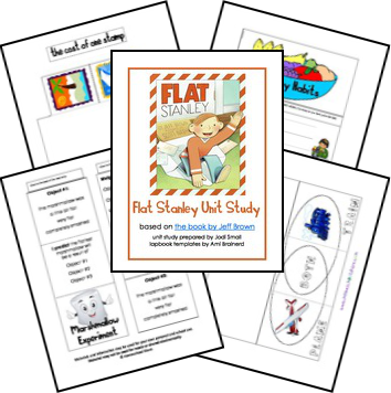 Free Flat Stanley Unit Study Lessons and Lapbook Printables