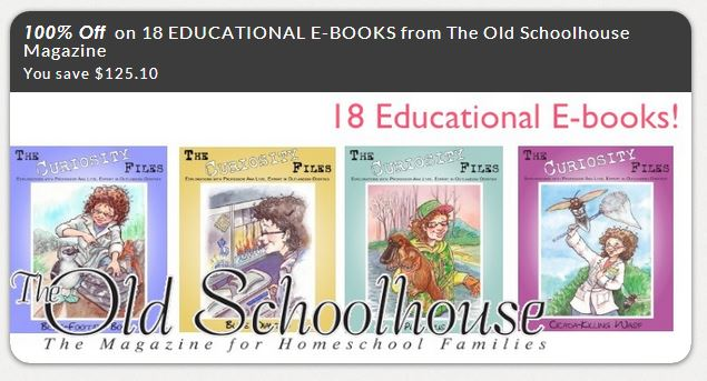 FREE 18 Educational Unit Study eBooks from The Old Schoolhouse Magazine