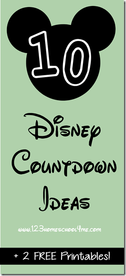 Free Disney Pin Countdown Printable Mickey Minnie Disney Countdown Printable Free Homeschool