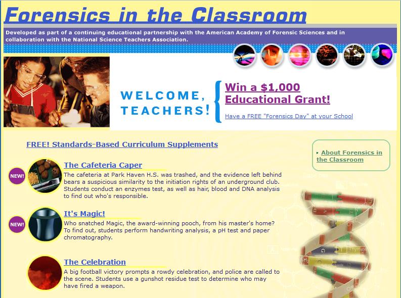 Forensic Science free writers website