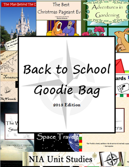 Free Unit Study Goodie Bag Download - including 5 unit studies!