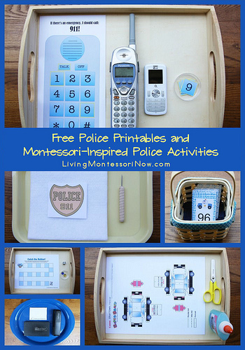 Free Police Themed Homeschool Printables | Free Homeschool ...