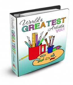 Free The World's Greatest Artists Unit Study