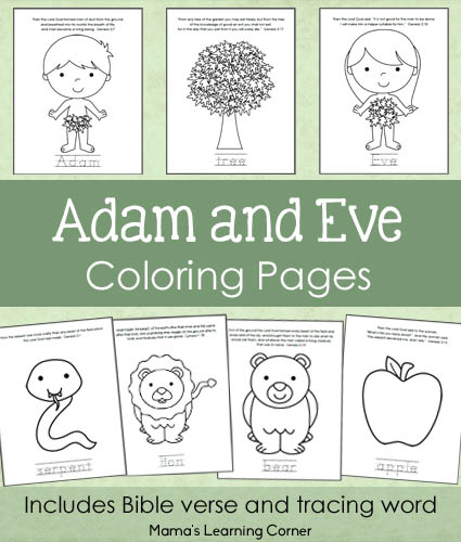 adam and eve bible coloring pages vosvete net