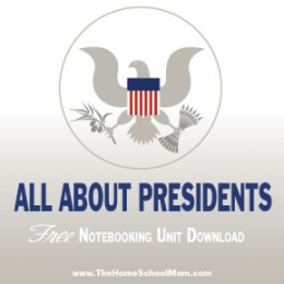Free All About Presidents Notebooking Unit