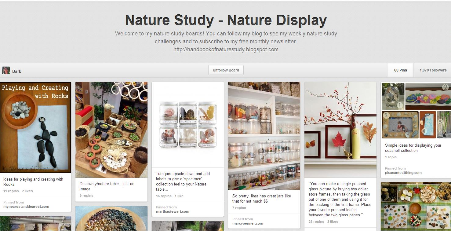 The ULTIMATE Homeschool Pinterest Party Nature Study