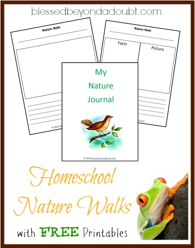 free homeschool nature walk printables free homeschool deals. Black Bedroom Furniture Sets. Home Design Ideas