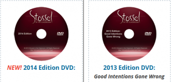 Free Stossel in the Classroom 2014 DVDs for Teachers and Homeschool