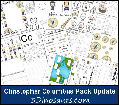 Free Christopher Columbus Worksheets Worksheets for all | Download ...