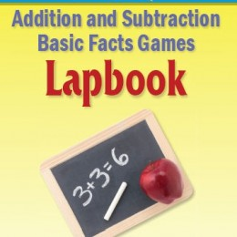 Free Addition & Subtraction Basic Facts Games Lapbook