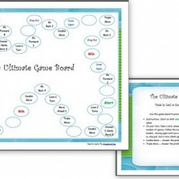 Free Ultimate Math Game Board + Free Addition Cards