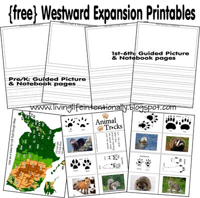 Printables Westward Expansion Worksheet free westward expansion printables and unit study resources lewis ca