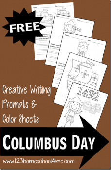 Free Columbus Day Coloring Sheets