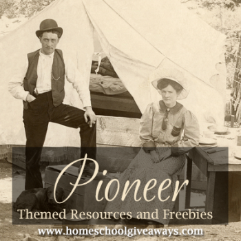 Free Pioneer Themed Resources and Freebies