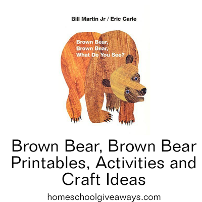 Free Brown Bear Brown Bear Printables Activities And