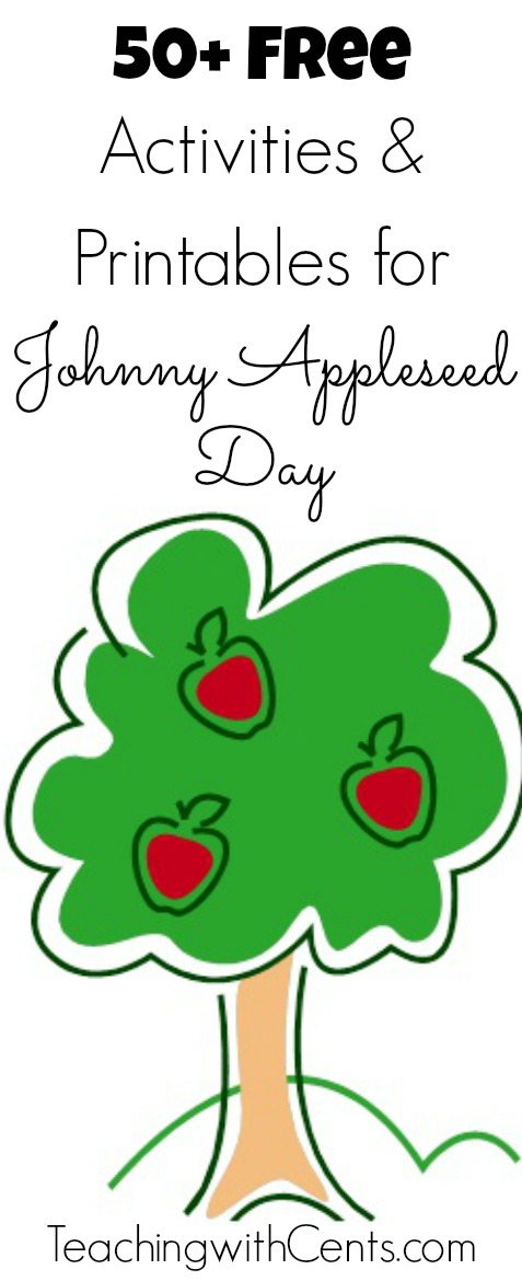 Free Activities and Printables for Johnny Appleseed Day : Free Homeschool Deals