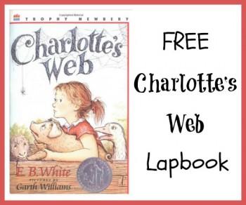 Free Charlotte's Web Lapbook