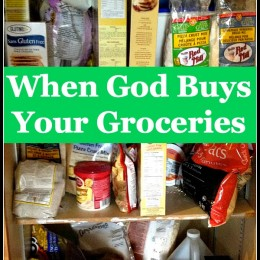 When God Buys Your Groceries