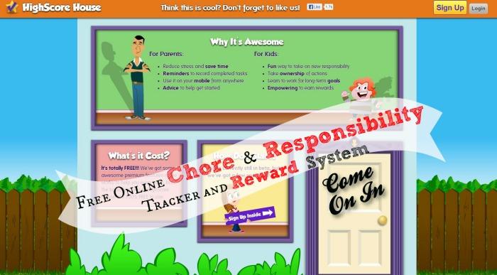 online chore tracker