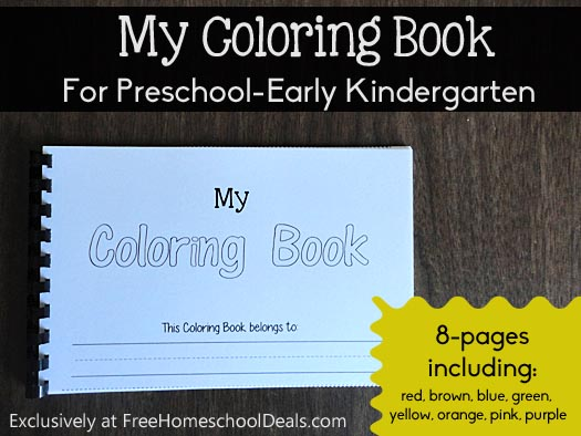 my coloring book - Color Books For Kindergarten