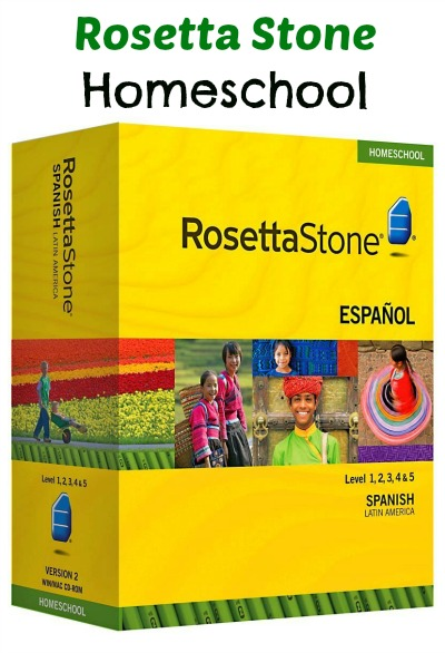 amazon rosetta stone homeschool level 1 5 set audio. Black Bedroom Furniture Sets. Home Design Ideas