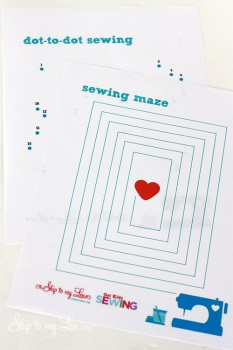Free Printable Sewing Sheets