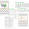 Trim Healthy Mama: Free THM Notebook Printables