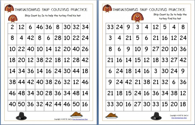Printables Free Printable Math Worksheets For Middle School free middle school math worksheets printable thanksgiving skip counting mazes 2s 3s 5s homeschool intrepidpath