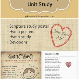 Free Download: Jesus Loves Me Hymn Study