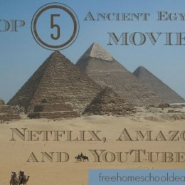Top 5 Ancient Egypt Movies on Netflix, Amazon, and YouTube!