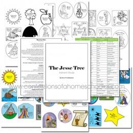 The Jesse Tree Advent Study and Free Advent Printable Set
