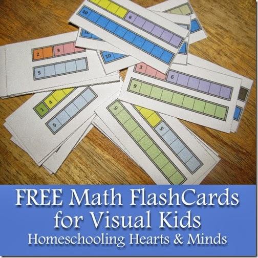 Free Math Flash Cards