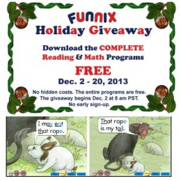 Funnix Complete Reading and Math Software Programs – FREE! {limited time}