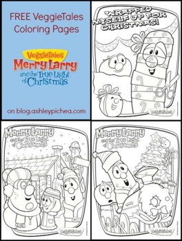 Free VeggieTales Coloring Pages