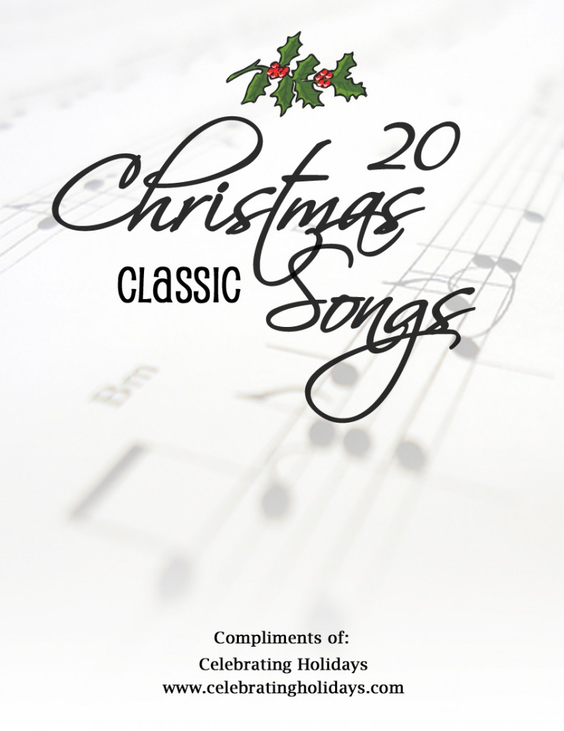 free christmas songbook download  sheet music for 20