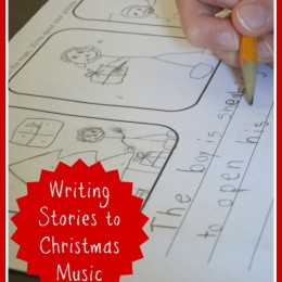 Writing Stories to Christmas Music Lesson + Free Printables