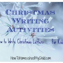 Free How to Write a Christmas Letter Lesson + Printable