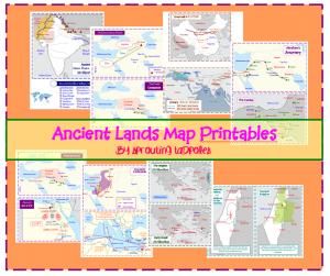 Ancient Lands Printable Maps