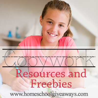 Copywork Resources and Freebies