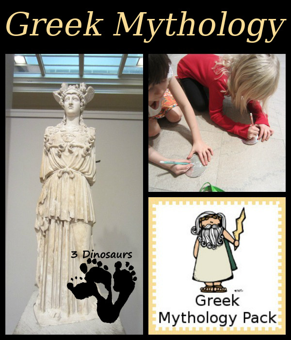 Greek Mythology Printable Pack