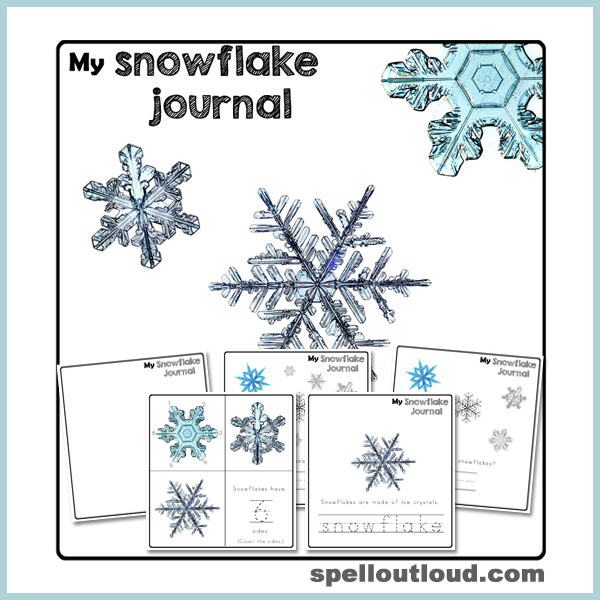 My Snowflake Journal for Preschoolers