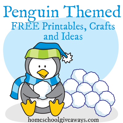 FREE Penguin Printables Crafts and Ideas  Free Homeschool Deals