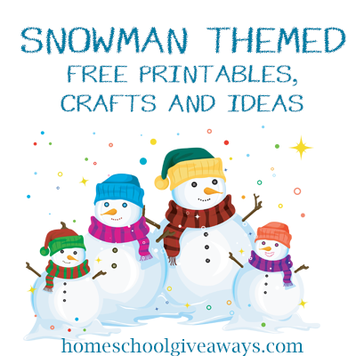 Need a few new snowman-themed printables, crafts, and ideas during ...