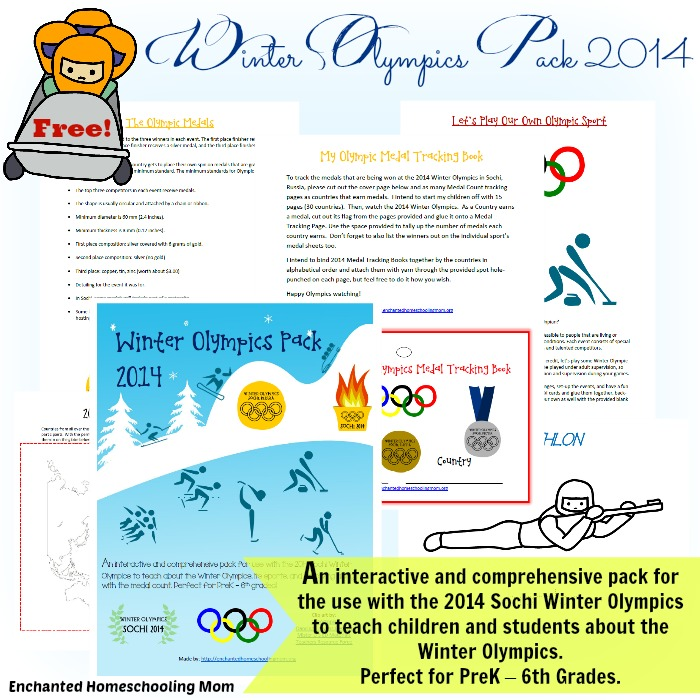 Winter Olympic Packet 2014