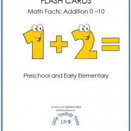 Homeschool Freebies: Free Math Flash Cards Addition 0-10