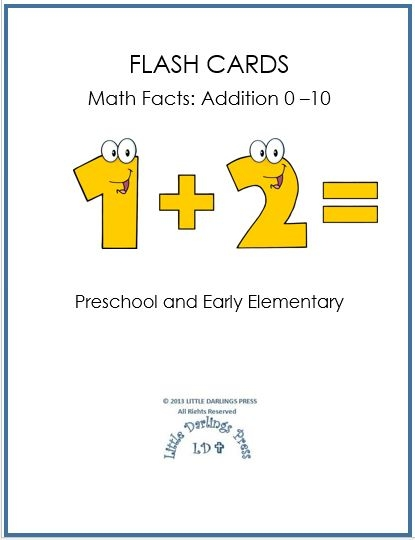 homeschool freebies free math flash cards addition 0 10 free homeschool deals. Black Bedroom Furniture Sets. Home Design Ideas