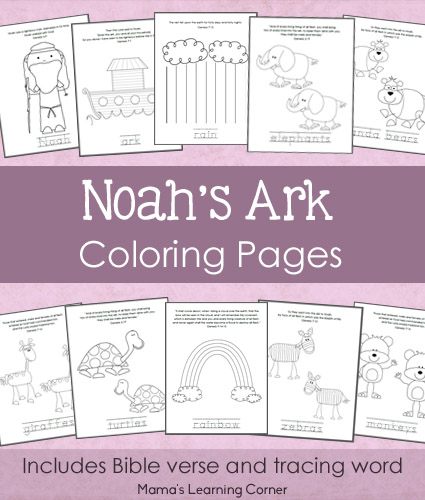 Free Printables For Kids Noah S Ark Coloring Pages Free Noah S Ark For Color Sheets