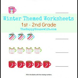 Free Printables: Winter Themed Worksheets