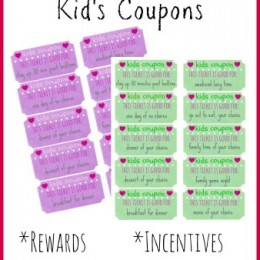 Free Printable Reward Tickets for Kids