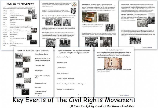 Printable Civil Rights Timeline - ExtraVital Fasion